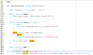 Github Netbeans Theme screenshot